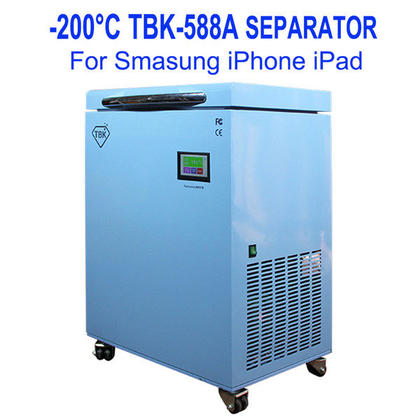 best selling TBK-588A Newest Professional Mass -200C LCD Touch Screen Freezing Separating Machine LCD Panel Frozen Separator Machine for edge