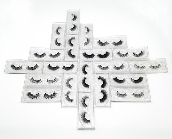 best selling Wholesale Cheap 3D Real Mink Eyelashes Vendor Private Label 3D Mink Lashes