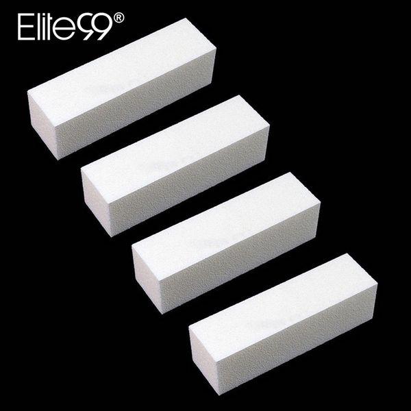 Elite99 4 pieces/lot Sanding Sponge Nail File Buffer Block for UV Gel Nail Varnish Art Buffer File Block Manicure Pedicure