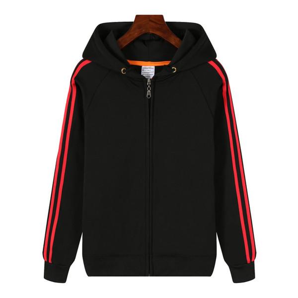 Black red stripe(Zip)