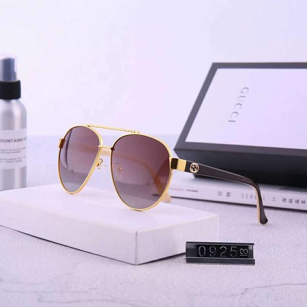 Sommer Designer Sonnenbrillen Luxus Sonnenbrillen für Herren Damen Sonnenbrille Polarized Driving UV400 Goggle Sunglass Hohe Qualität mit Box