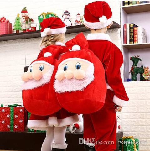 Sales!!! Free shipping Christmas Day Decoration Santa Large Sack Stocking Big Gift Bags Gold Velvet