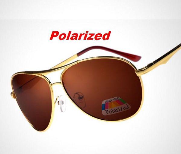 L21 Diseñador de la marca Gafas de sol polarizadas Hombres Gafas de sol polaroid Gafas de sol Hombre Gafas de sol de conducción para hombres Gafas de sol Gafas