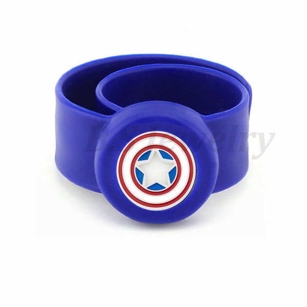 Movie character3 Stainless Steel Kids Adjustable Essential Oil Bangle Children Men Women Silicone Diffuser Locket Silicone Bracelets