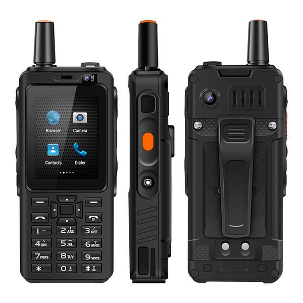top popular 4G Walkie Talkie Cellphone FDD TDD LTE Walkie Talkie Mobile Phone 5MP Back Camera Zello Android UNIWA F40 2021