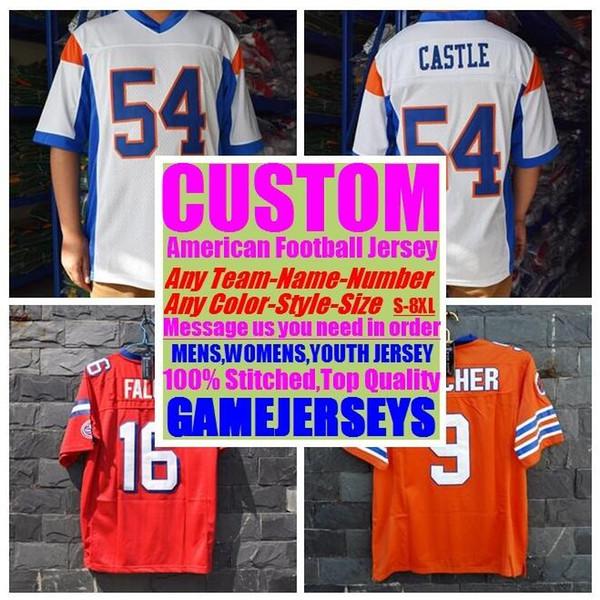 top popular Customized american football Jerseys college cheap authentic customize sports usa jersey stitched man womens youth kids 4xl 5xl 6xl 7xl 8xl 2019