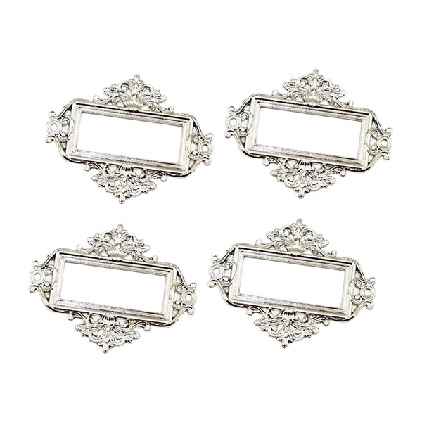best selling 4x File Drawer Cabinet Card Tag Labels Holder Metal Frame For Office Library