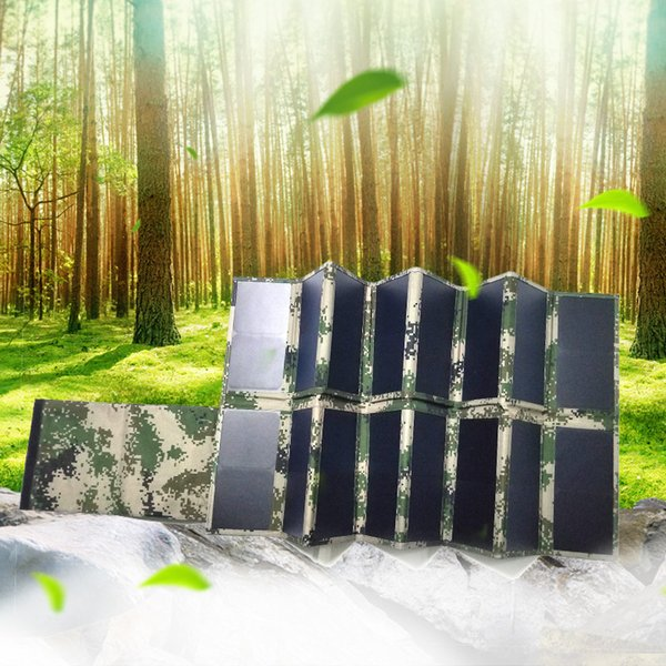 100W Solar Charger (Dual 5v USB +18v DC Output) Portable Solar Panel for Laptop, Tablet, ipad, iPhone, Samsung, Notebooks, 12v Car, Boat, RV