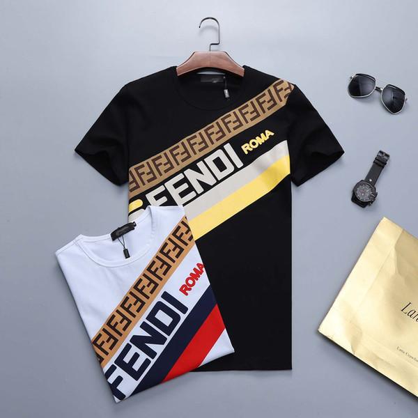 T-Shirt da uomo a manica corta estiva Medusa Shirt T-Shirt da uomo di fascia alta T-Shirt M-3XL di grandi dimensioni