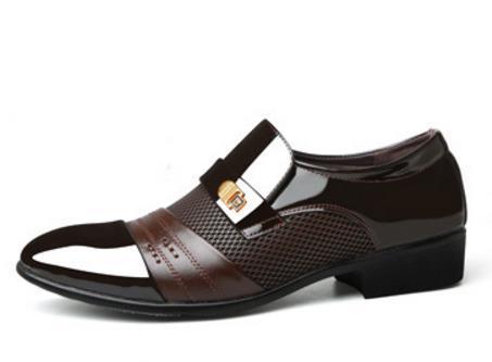 Frete Grátis 2019 marcas de sapatos de couro preto italiano mens sapatos de casamento formal oxford para mens dedo apontado sapatos sapato mascul