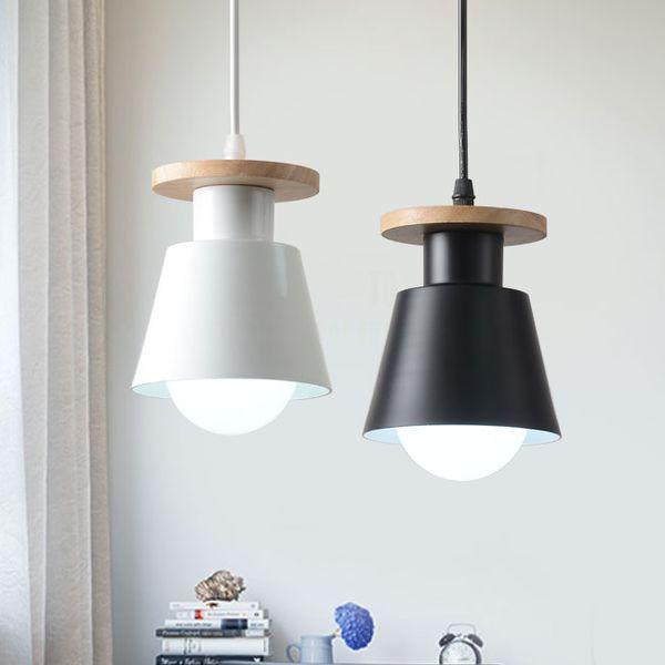 Nordic Wooden Indoor Led Pendant Lamp Modern Kitchen Dining Bedside Room Suspension Hanging Light Fixture Luminaire Home Decor-I49