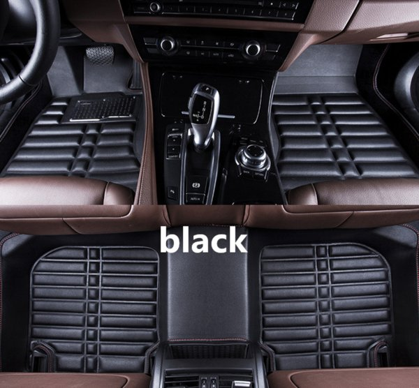Applicable to Ford Mondeo 2008-2018 car floor mat front and rear pad accessories non-slip waterproof leather carpet car mat