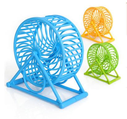 Bo Hamster Toys Rolling Run Round Ball Bring Bracket Hamster Motion Running Wheel / Small Favour And Put Sb. In Important Position Product