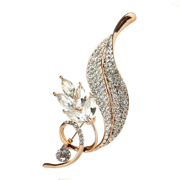 5 pcs/bag flower shape lady's Brooch Collar Needle free shipping wholesale