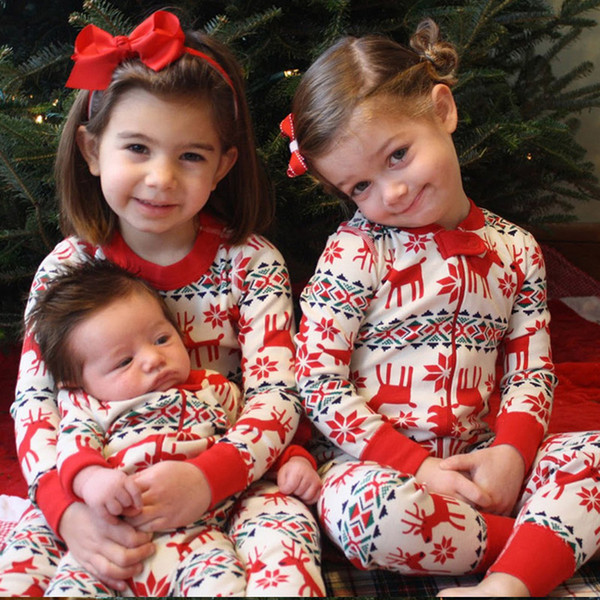 Family Christmas Pajama Family Matching Clothes Matching Mother Daughter Clothes Fashion Father Son Mon New Year Look