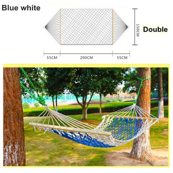 파란색, 흰색 (더블)