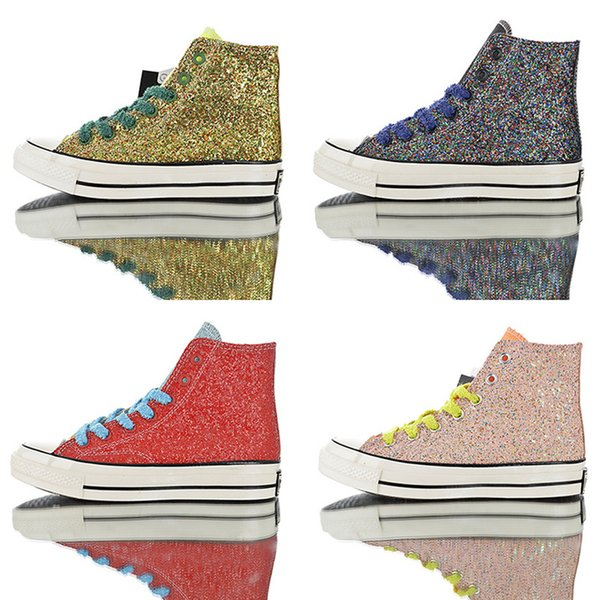 2019 J.W.Anderson X CHUCK 70s 2.0 HI Flash High-Top Casual Canvas Shoes 1970s Men'S Sports Shoes Designer Sports Shoes 36-44