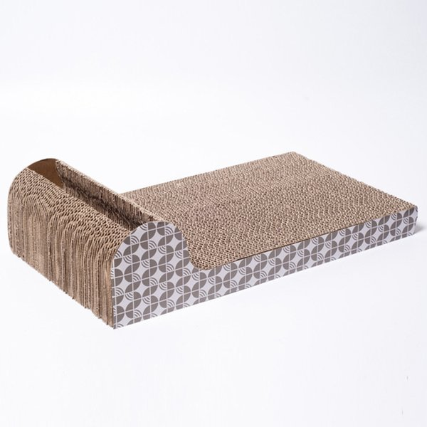 Cat Kitten Corrugated Scratch Board Pad Scratcher Bed Mat Care Interactive Toy For Pet Cat Training Toy