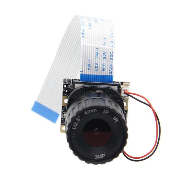 Freeshipping Raspberry Pi Camera / 5MP 4mm Focal Length Night Vision NoIR Camera Board with IR-CUT for Raspberry Pi 3 Model B/2B/B+/Zero (w)