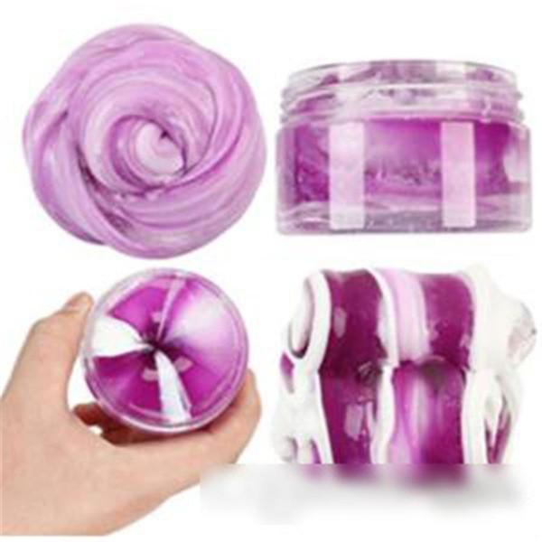 Crystal melma patchwork plastilina fango di cristallo argilla colorata fai da te argilla plastica dispositivo di rilievo di pressione per i giocattoli per bambini