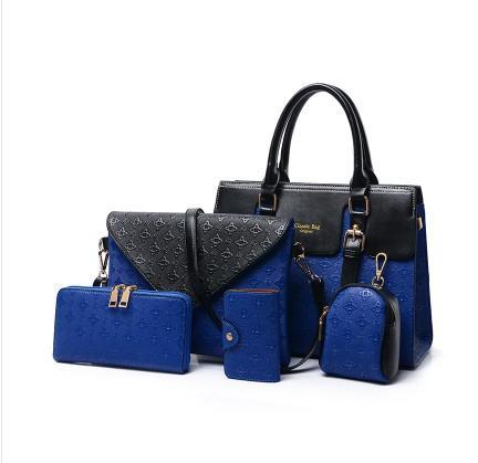 woman handbag pu leather composite bag new female messenger purse card key bag designer - from $39.53