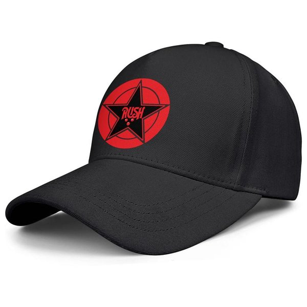 Rush Logo Albums black mens and womens trucker cap ball design designer sports personalized Hipster hats