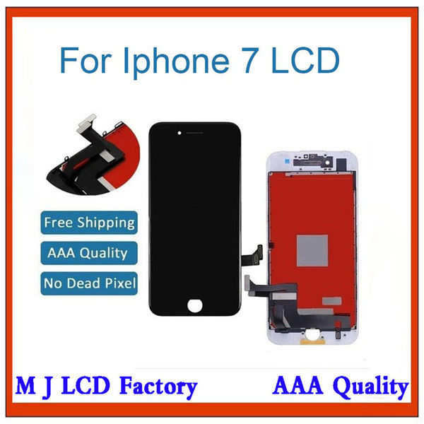 GREAT PARTS 1PCS LCD For iPhone 7 LCD Display Touch Screen Assembly Replacement Good 3D touch Free ship