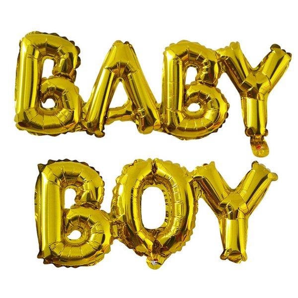 B61 Baby boy gold