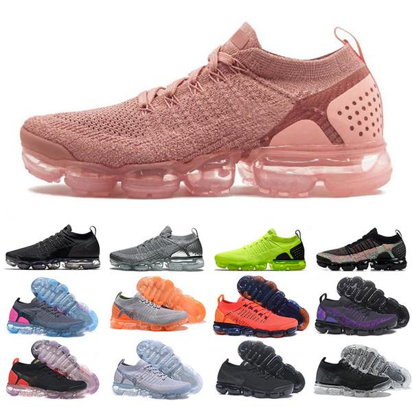 2019 Örgü 2.0 3.0 Erkek Koşu Ayakkabıları Erkek Kadın Yeşil Beyaz Siyah Erkek Eğitmenler Spor Tasarımcısı Yürüyüş Ayakkabıları Boyutu 36-45