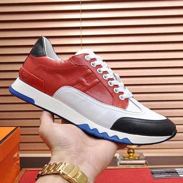 Yeni Erkekler Ayakkabı Sneakers Casual Nefes Moda Eğitmenler Trail Sneakers Zapatos de hombre Erkek Ayakkabı Rahat Lüks Orijinal Kutusu ile ER995