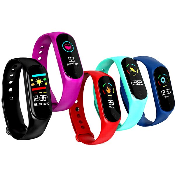 New Fitbit Smart Wristband Fitness tracker Wearable Bracelet Calorie Counter Watch Heart Rate Monitor Multi-sport Smart Band For IOS Andriod