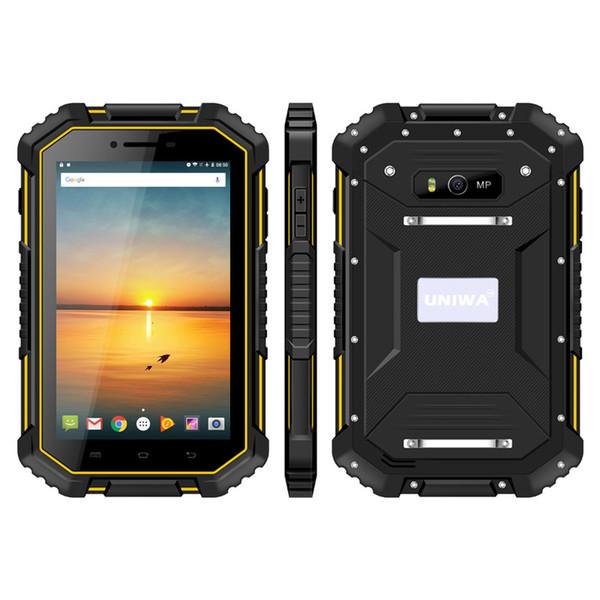 Neue Ankunft UNIWA HV2 IP67 wasserdichter NFC 4G robuster Tablet PC 7 Zoll MTK8732 Quad Core 2 GB RAM / 16 GB ROM Android 4.4 Super Smart Tablet PC