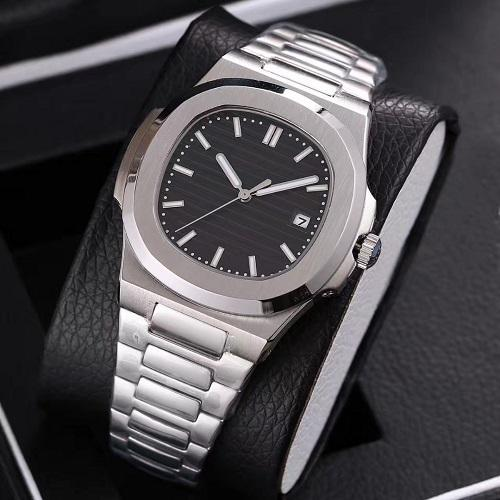 best selling Top selling high quality automatic mechanical watch stainless steel strap nautilus men mens watch watches