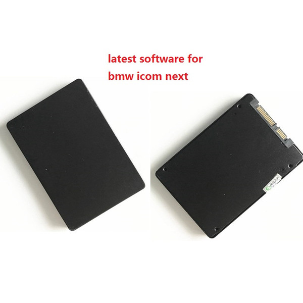 2019.07 soft-ware SSD 480G for bmw icom next with expert mode ( ISTA-D: 4.17 ISTA-P:3.66) win7 fit 95% laptops many languages