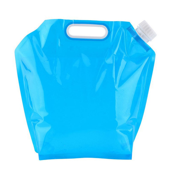 best selling HOT 5L 10L Foldable Collapsible Drinking Water Bag Car Water Carrier Container for Outdoor Camping Hiking Picnic BBQ HV99