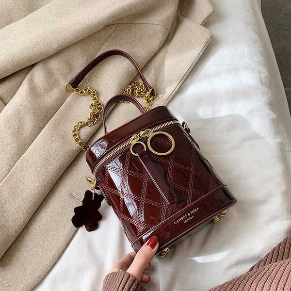 Luxuriöse Handtaschen für Frauen 2019-Qualitäts-Leder Frau Bucket Bag Damen Umhängetaschen High Capacity Umhängetasche