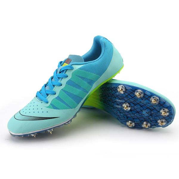 Comemore Uomini di atletica Scarpe Uomo scarpe sportive all'aperto Sport Spikes Sneakers Unisex pista adolescenti corsa Run