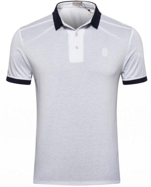 UMB*RTO BILAN*IONI Short Sleeve T-Shirt Men's 2019 Summer New Button Leisure