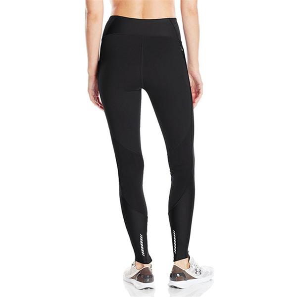 S-XXL U&A Stretchy Leggings Women's Skinny Pants Tights Sports Jogging YOGA High Waist Push Up Trousers Amour GYM Track Pants 2019 C42305