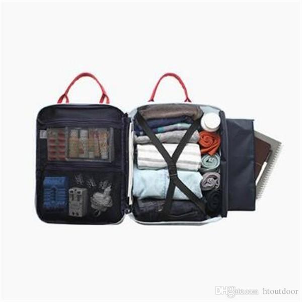 27 * 36 * 14 centímetros Multi-Function de ombro único Belt Crossbody Bag Outdoor Viagem Material Sacks Armazenamento Organizer Bag Handbag Pacote mochilas