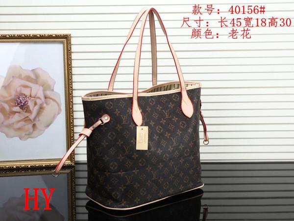 Marka Tasarımcısı kadın deri çanta kadın anne paketi çanta el anne konşimento omuz çantası kadın çantası + Küçük çanta N51106 M40157