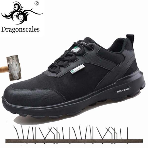 2019 Scarpe antinfortunistiche da uomo Scarpe in acciaio da lavoro anti-strappo Scarpette antinfortunistiche da uomo traspiranti