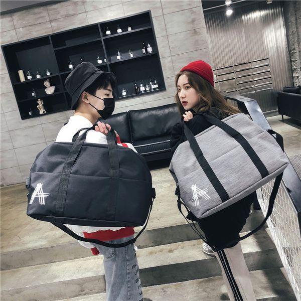 Charismatic2019 And Men Women Motion Training Travel Luggage Single Shoulder Portable Diagonal Package A Short Trip Envelope
