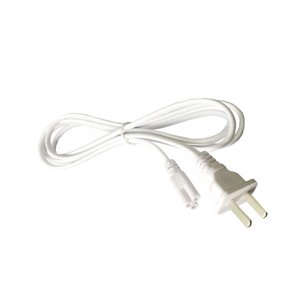 Led tüp ışık kablosu için t8 t5 entegre tüp ampuller 3 pinli konnektör kolay kurulum ve güvenlik LED tüp ampul güç kabloları