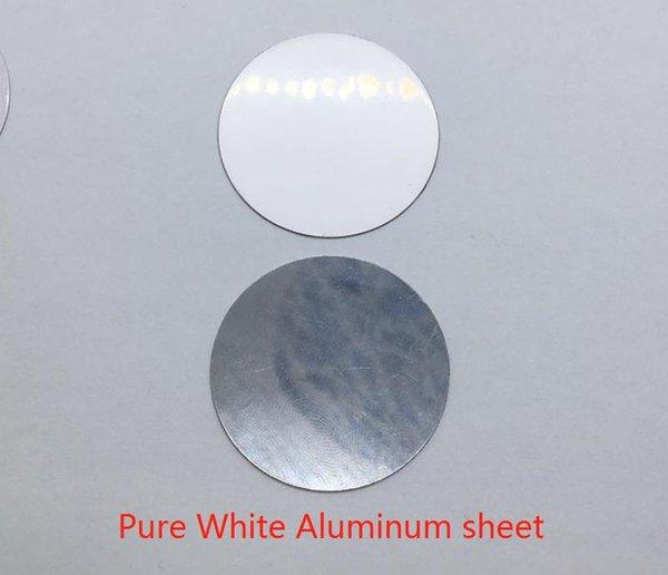 Pure White Aluminum sheet