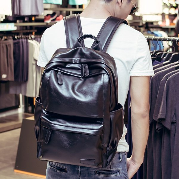 Hombres Mochila studented Mochila de gran capacidad de alta calidad bolsas impermeables mochila cruzada Bolsas de hombro del cuerpo bolsa de ordenador portátil que viaja ocasional