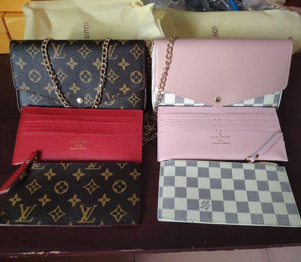 2019 new de ign women chain houlder bag luxury handbag b141, Blue;gray