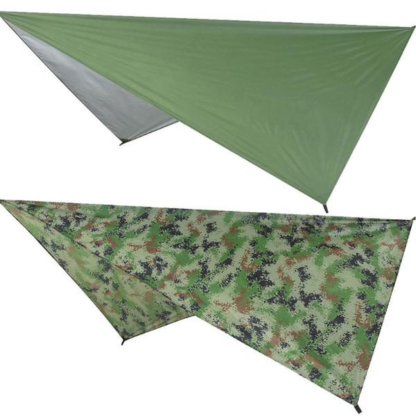 top popular Waterproof Sun Shelter Outdoor Awnings Tent Tarp Anti UV Beach Tent Shade Camping Hammock Rain Camping Sunshade Canopy 2021