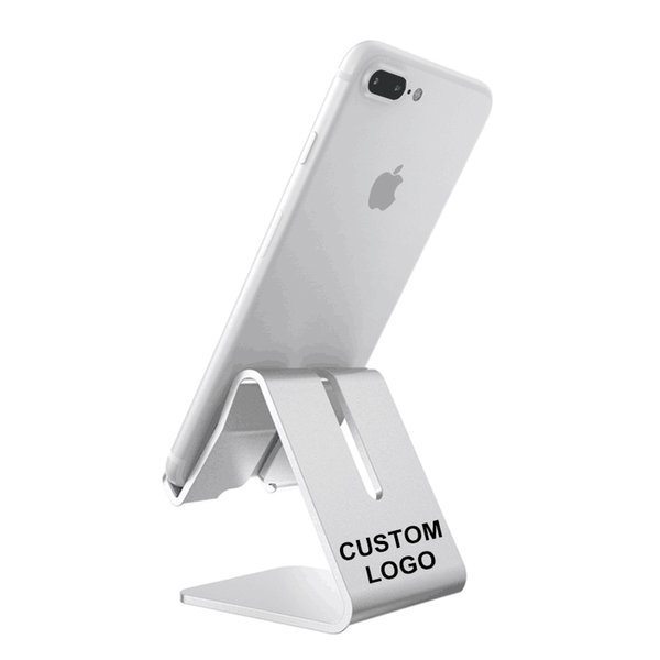 Support de téléphone en métal adapté aux besoins du client en gros de haute qualité pour le téléphone portable titulaire unique de DIY pour la tablette de téléphone portable