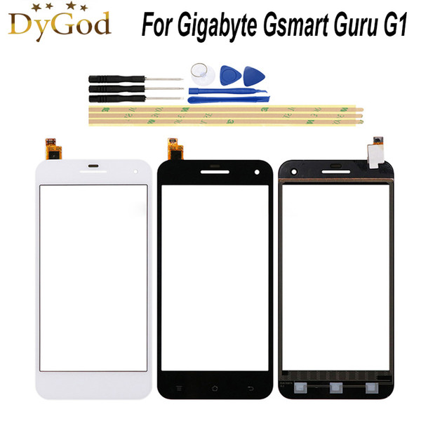 5.0 inch For Gigabyte Gsmart Guru G1 Touch Screen Glass Panel Phone Replacement For Gigabyte Gsmart Guru G1 +Tools+3M Stickers